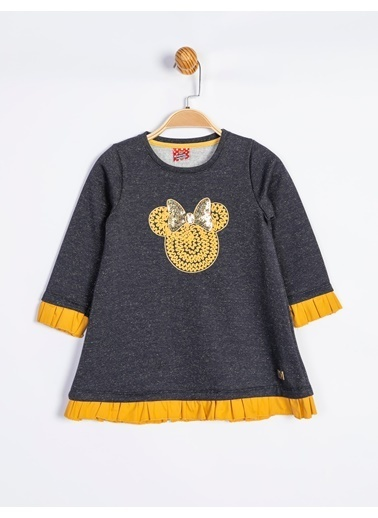 Mickey Mouse Elbise Lacivert